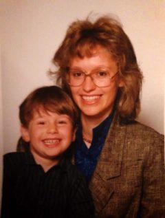 Petra und ihr Sohn Florian