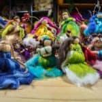 Engel und Elfen aus Schafwolle