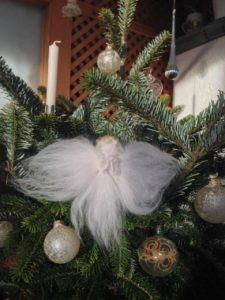 Weihnachtselfe Filzpackerl.at