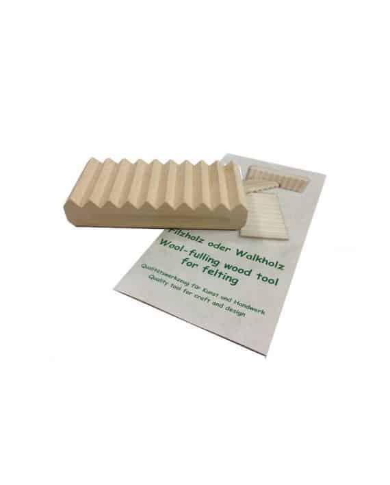 Filzholz zum Nassfilzen