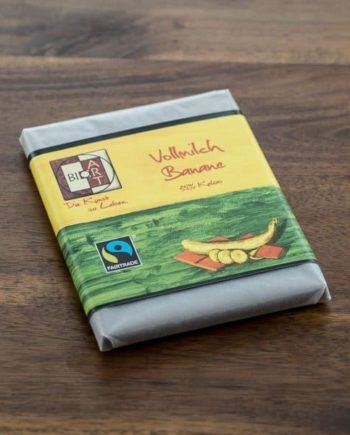 BioArt Schokolade Vollmilch Banane
